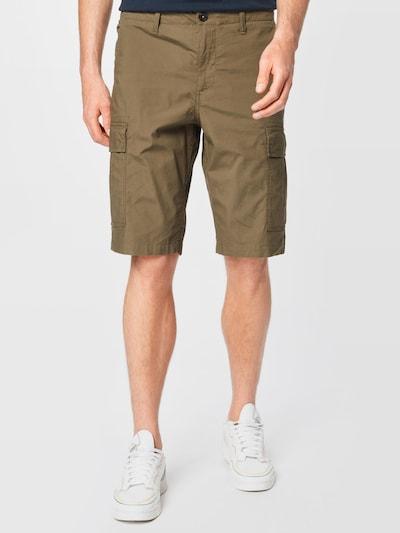 TIMBERLAND Pantalon cargo en olive, Vue avec modèle