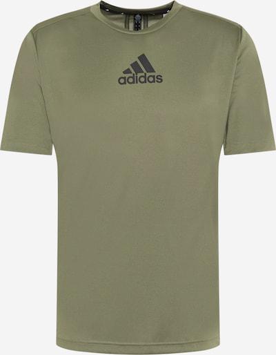 ADIDAS PERFORMANCE Funkčné tričko - kaki / čierna, Produkt