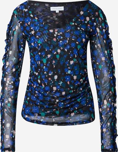 Fabienne Chapot Shirt in blau / mint / rosa / schwarz, Produktansicht