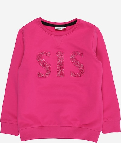 NAME IT Sweatshirt in dunkelpink, Produktansicht