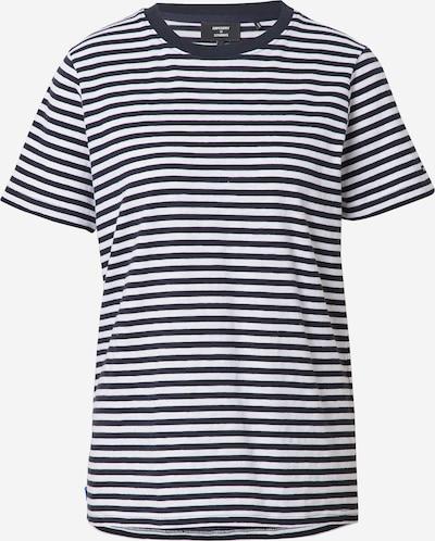 Superdry Camiseta en azul oscuro / blanco, Vista del producto
