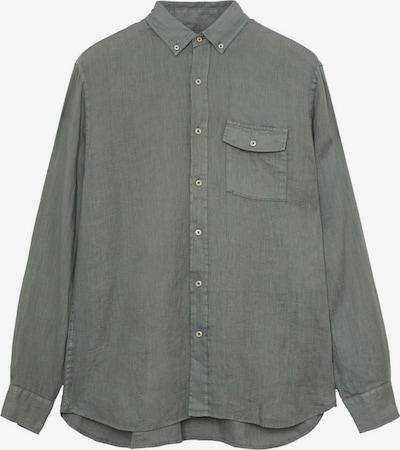 MANGO MAN Hemd 'calcuta' in khaki, Produktansicht