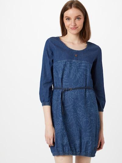 Alife and Kickin Kleid 'Doja' in azur / blue denim, Modelansicht