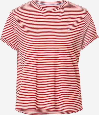 Tommy Jeans T-Shirt in purpur / weiß, Produktansicht