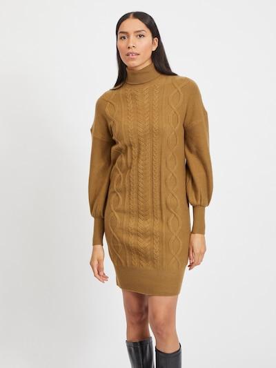 Rochie tricotat 'Becks' VILA pe maro cămilă, Vizualizare model