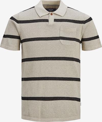 JACK & JONES Koszulka 'Frankie' w kolorze beżowy / czarnym, Podgląd produktu