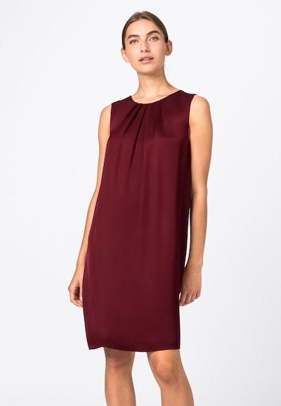 HALLHUBER Kleid in bordeaux, Modelansicht