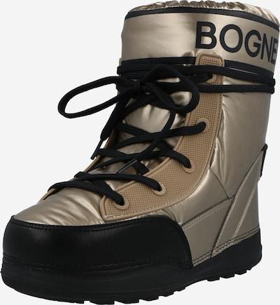 BOGNER Snowboots in gold / schwarz, Produktansicht