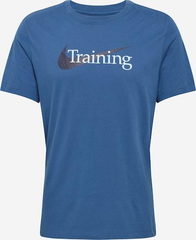 NIKE Tehnička sportska majica u mornarsko plava / crna / bijela, Pregled proizvoda