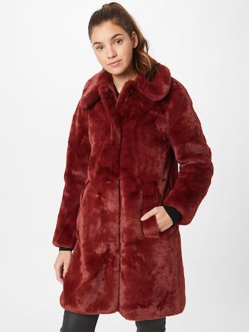 King Louie Between-Seasons Coat 'Betty' in Red