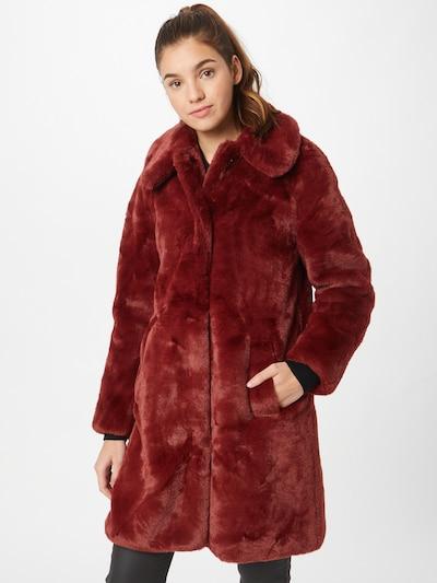 King Louie Manteau mi-saison 'Betty' en rouge foncé, Vue avec modèle