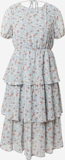 VILA Obleka | bež / nebeško modra barva, Prikaz izdelka