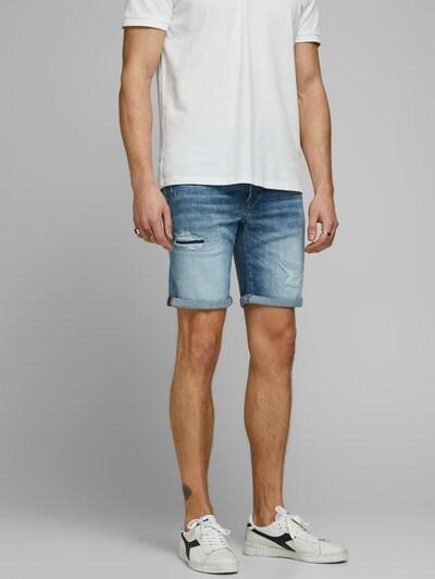 JACK & JONES Shorts 'Rick' in blue denim, Modelansicht