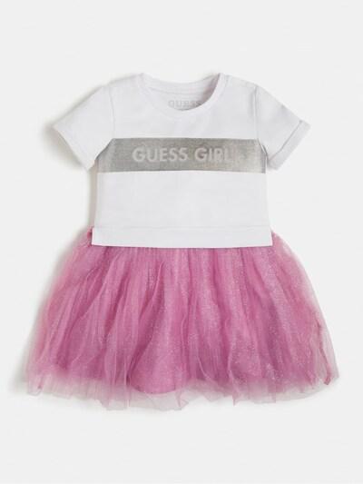 GUESS KIDS Kleid in pink / weiß, Produktansicht