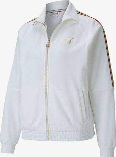 PUMA Trainingsjacke in weiß, Produktansicht