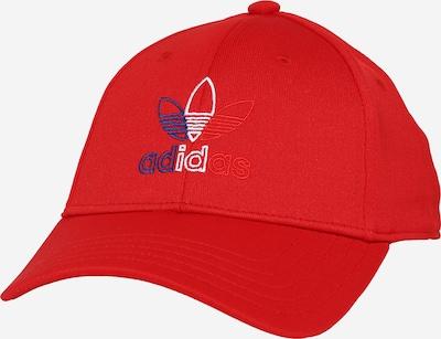ADIDAS ORIGINALS Casquette 'Baseball Classic Trefoil' en rouge, Vue avec produit