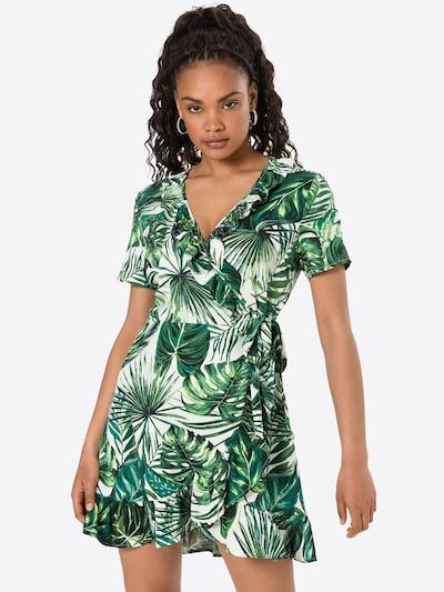 ONLY Robe 'ALMA' en crème / vert, Vue avec modèle