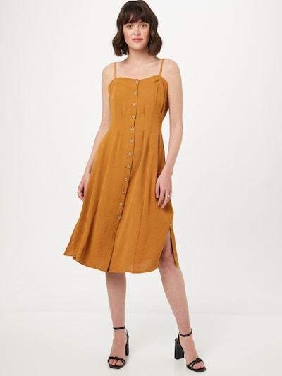 Rochie tip bluză Trendyol pe maro cămilă, Vizualizare model