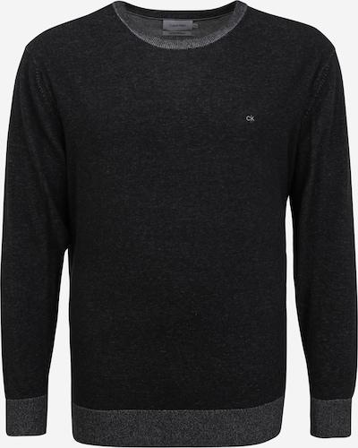 Calvin Klein Big & Tall Pullover in dunkelgrau / schwarz, Produktansicht