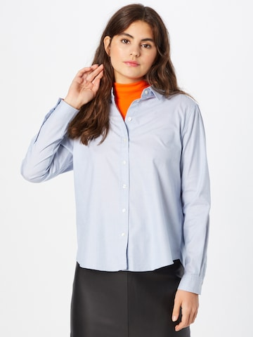 BOSS Casual Bluse 'Bemanew' in Blau