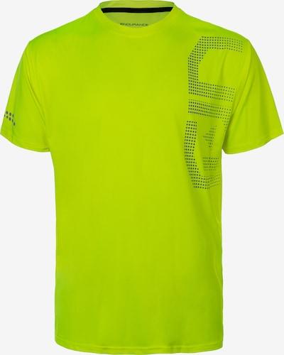 ENDURANCE Funktionsshirt 'EDEL M XQL' in gelb, Produktansicht