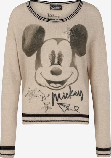 PRINCESS GOES HOLLYWOOD Pullover 'Mickey Retro' in beige, Produktansicht