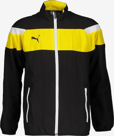 PUMA Jacke in gelb / schwarz, Produktansicht