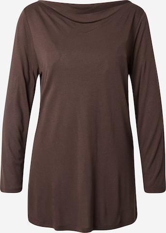 Esprit Collection Shirt 'Slash' in Braun