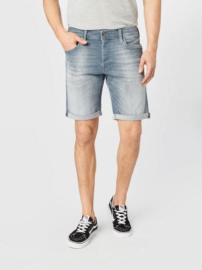 JACK & JONES Jeansshorts 'Rick' in dunkelblau, Modelansicht