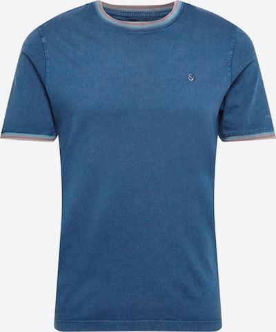 COLOURS & SONS T-shirt 'KARL' i himmelsblå / orange, Produktvy
