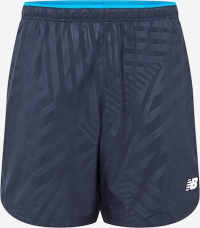 new balance Sportbroek in de kleur Navy / Wit, Productweergave