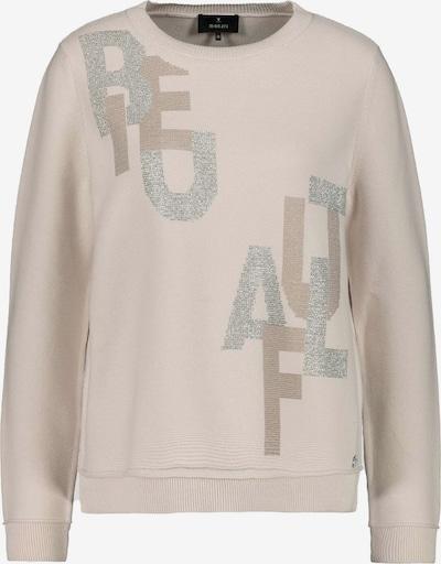 monari Pullover in creme / hellbeige / silber, Produktansicht