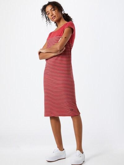 Alife and Kickin Ljetna haljina 'Clarice' u mornarsko plava / crvena melange / bijela, Prikaz modela