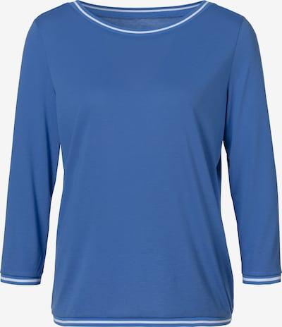 HIS JEANS Shirt in blau / weiß, Produktansicht