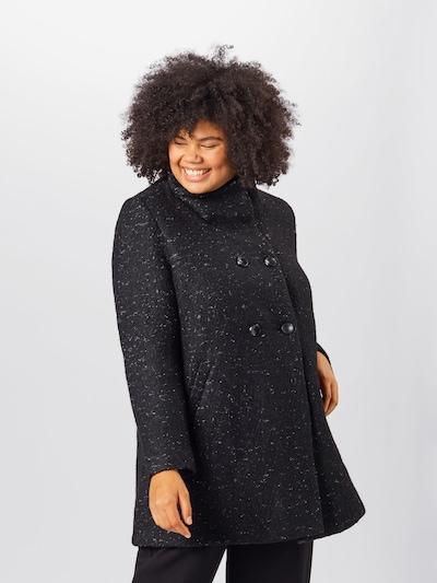 Rudeninis-žieminis paltas iš ONLY Carmakoma , spalva - juoda, Modelio vaizdas