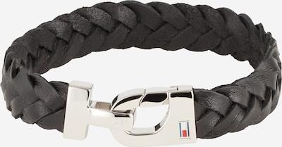 TOMMY HILFIGER Armband in de kleur Zwart / Zilver, Productweergave