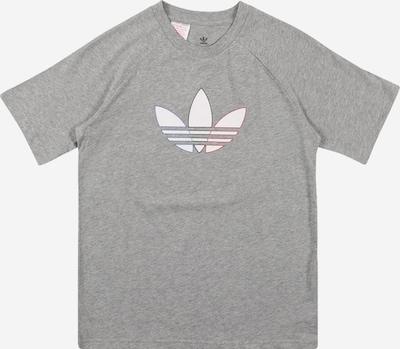 ADIDAS ORIGINALS T-Shirt in blau / graumeliert / rot / schwarz / weiß, Produktansicht