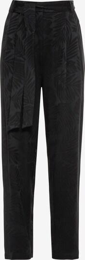 HALLHUBER Bundfaltenhose in schwarz, Produktansicht