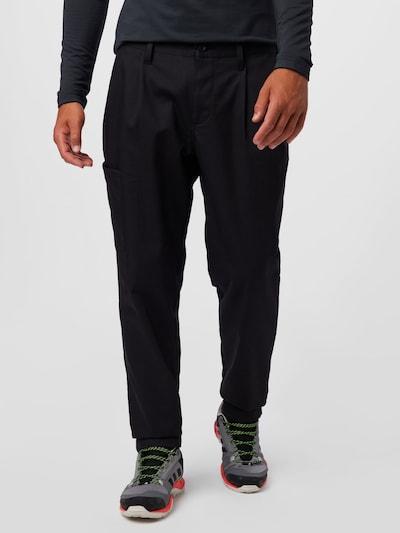 Pantaloni sport adidas Golf pe negru, Vizualizare model