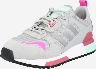 Sneaker bassa ADIDAS ORIGINALS di colore grigio / giada / pitaya / rosso, Visualizzazione prodotti