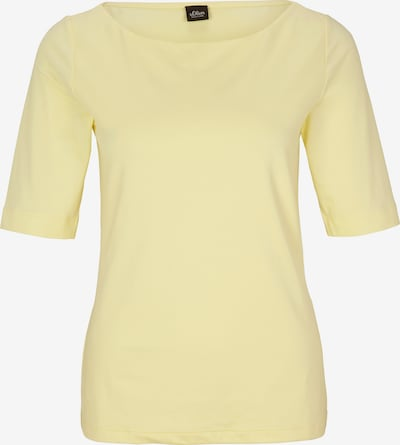 s.Oliver BLACK LABEL Shirt in gelb, Produktansicht