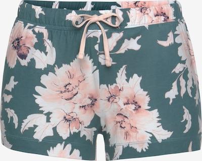 VIVANCE Pidžamas bikses 'Dreams', krāsa - nefrīta / rožkrāsas, Preces skats