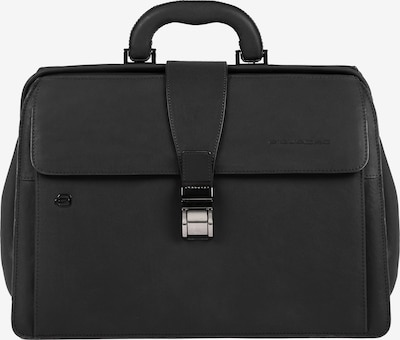 Piquadro Black Square Aktentasche Leder 37 cm in schwarz, Produktansicht