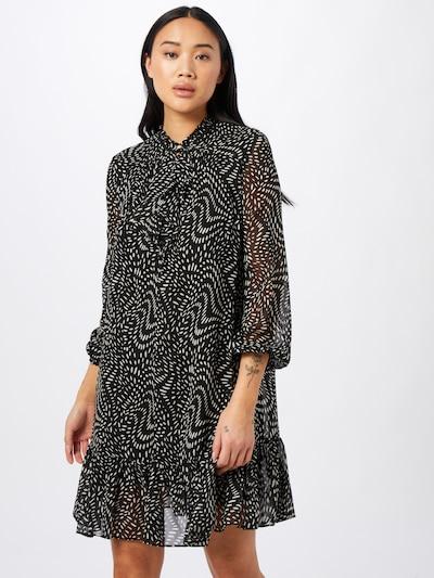 PINKO Kleid 'GEORGETTE' in schwarz / weiß, Modelansicht