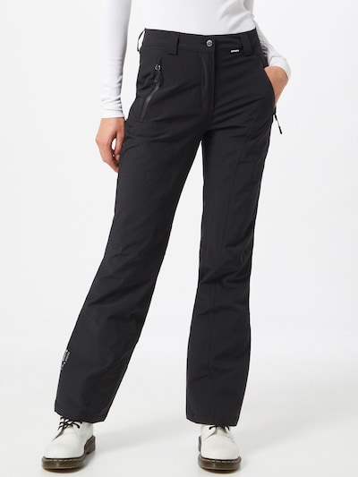 ICEPEAK Sport-Hose 'Freyung' in schwarz, Modelansicht