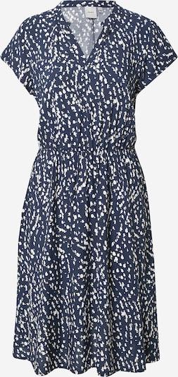 Rochie tip bluză ICHI pe albastru închis / alb, Vizualizare produs