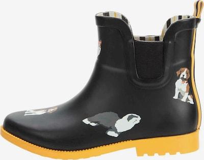 Keddo KEDDO Stiefel in gelb / schwarz, Produktansicht
