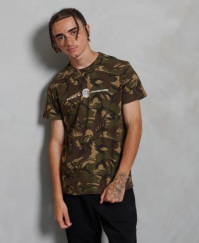 Superdry Shirt in de kleur Beige / Bruin: Vooraanzicht