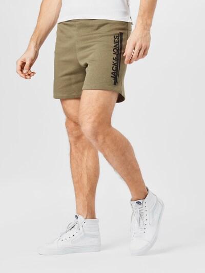 Pantaloni 'HARRY' JACK & JONES pe navy / oliv, Vizualizare model
