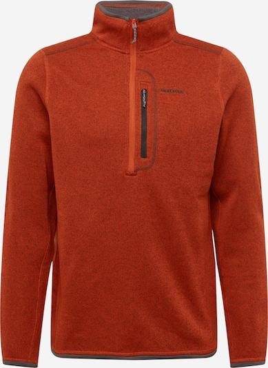 CRAGHOPPERS Pullover 'Bronto' in braunmeliert / grau, Produktansicht